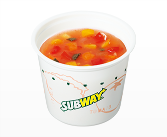 高原トマトと6種野菜の 冷製ミネストローネ