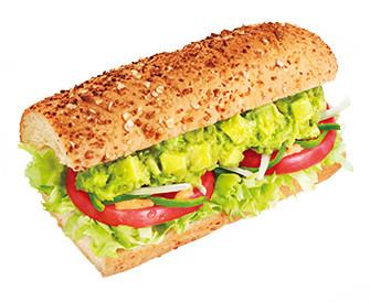 アボカドベジー│サブウェイのサンドイッチ│おいしい!をはさもう。野菜のサブウェイ公式サイト