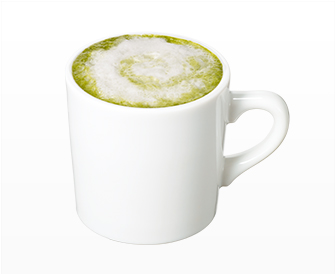 ホット抹茶ラテ